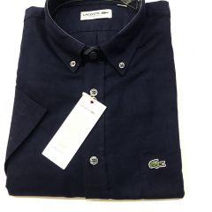 Camisa Manga Corta Lacoste C-CH7174-166-AZUL MARINO-M