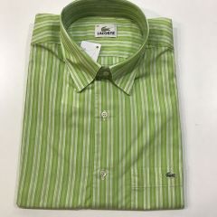 Camisa Manga Corta Lacoste C-L4H3724-AME-VERDE-M