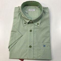Camisa Manga Corta Etiem C-1819-6632-01-VERDE-L