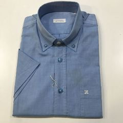 Camisa Manga Corta Etiem C-1819-6603-58-AZUL-L