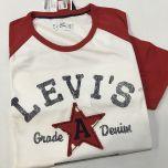 Camiseta Manga Corta Levis C-42225-0004-ROJO-XL