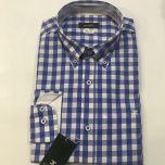 Camisa Manga Larga Etiem C-1744-6096-01-AZUL-L