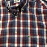 Camisa Manga Larga Lacoste C-L4H4785-ROJO-M